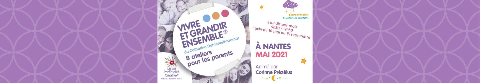 You are currently viewing Nouveau cycle d'ateliers «Vivre et Grandir Ensemble» à Nantes !