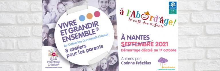 Read more about the article Démarrage en octobre au Café des enfants
