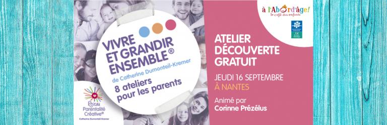 Read more about the article Atelier Découverte gratuit !